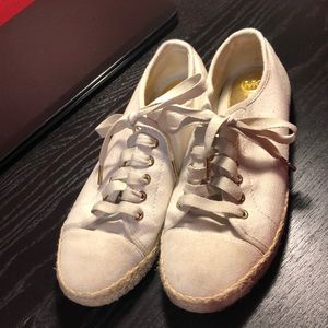 Michael Kors canvas sneakers size 8.5